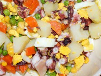 Salada de Polvo com Batata