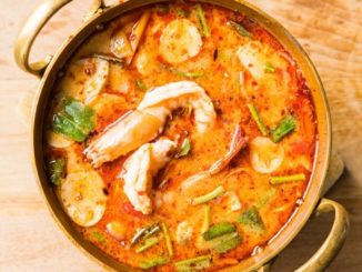 Sopa de Camarão Picante