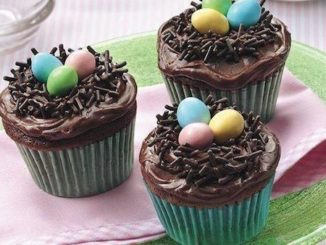 Cupcakes Ninhos da Páscoa