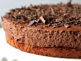 Bolo de Mousse de Chocolate